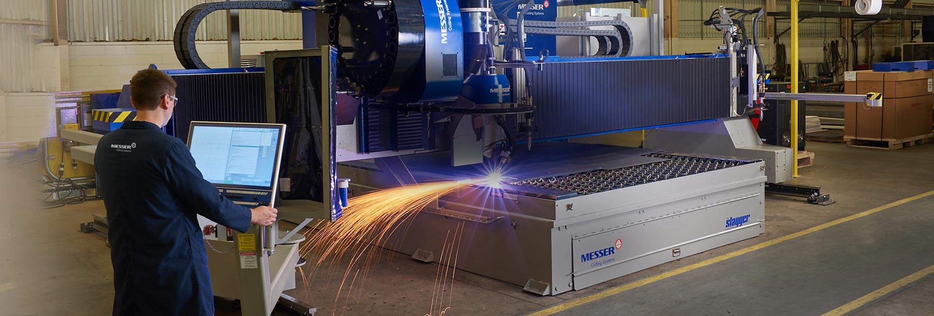 Máquinas De Corte Láser Y Plasma CNC Para Metal